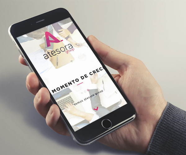 Atesora Group // Diseño web
