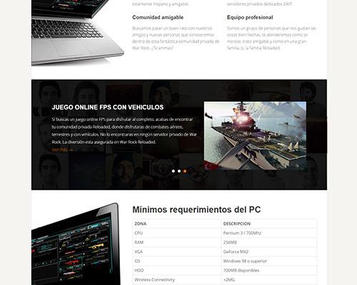 diseño-pagina-web-game-play-warrock-reloaded-3