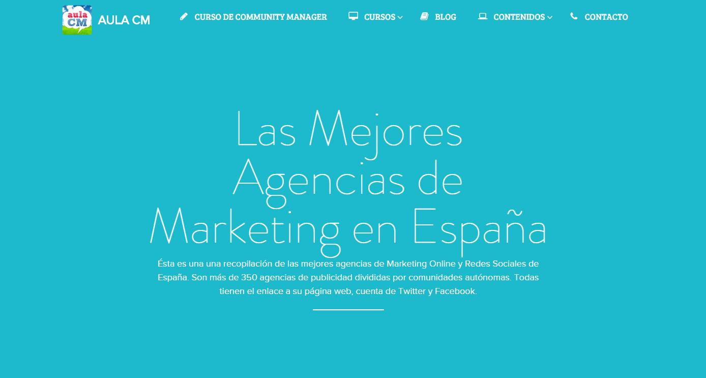 Mejores agencias de marketing en España