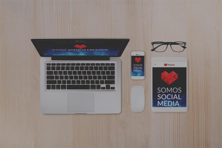 Empresas de diseño web. Passion Agency tu socio tecnológico