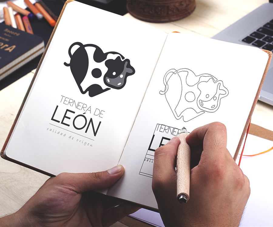 diseño-logotipo-ternera-de-leon