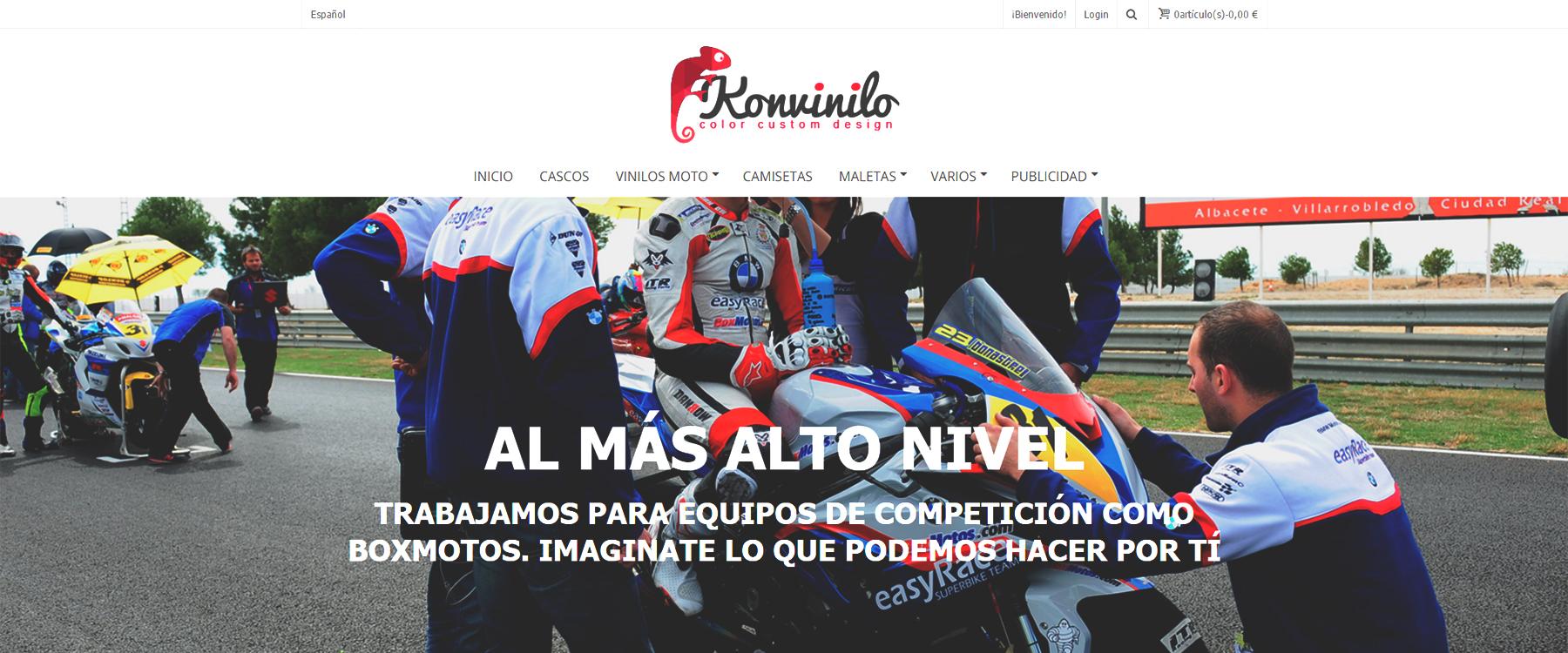 Diseño de tienda online Ecommerce