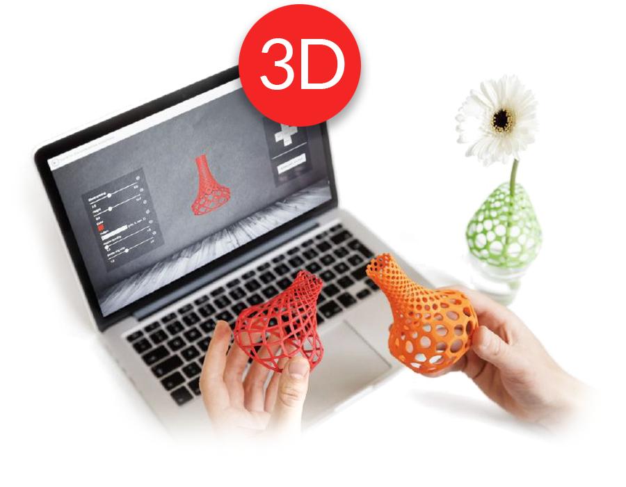 Agencia creativa de diseño 3d e impresión 3d