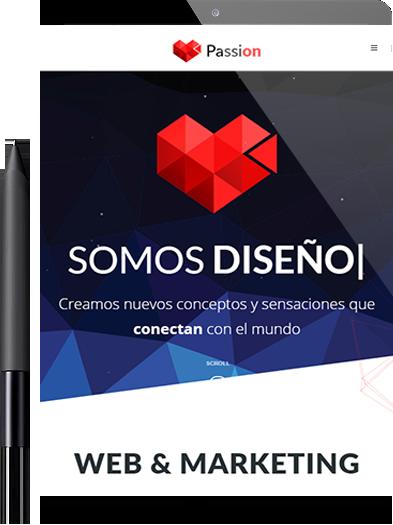Agencia creativa de diseño de páginas web